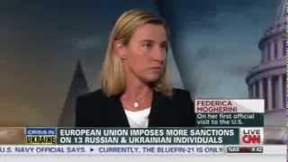 Ministro Mogherini ospite di Wolf Blitzer su CNN International