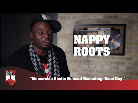"""Nappy Roots - Memorable Studio Moment Recording """"Good Day"""" (247HH Exclusive)"""