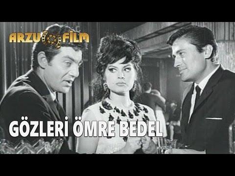 Gözleri Ömre Bedel | Türkan Şoray & Cüneyt Arkın - Siyah Beyaz Filmler