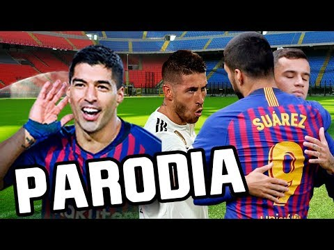 Canción Barcelona vs Real Madrid 5-1 (Parodia Taki Taki - Oz