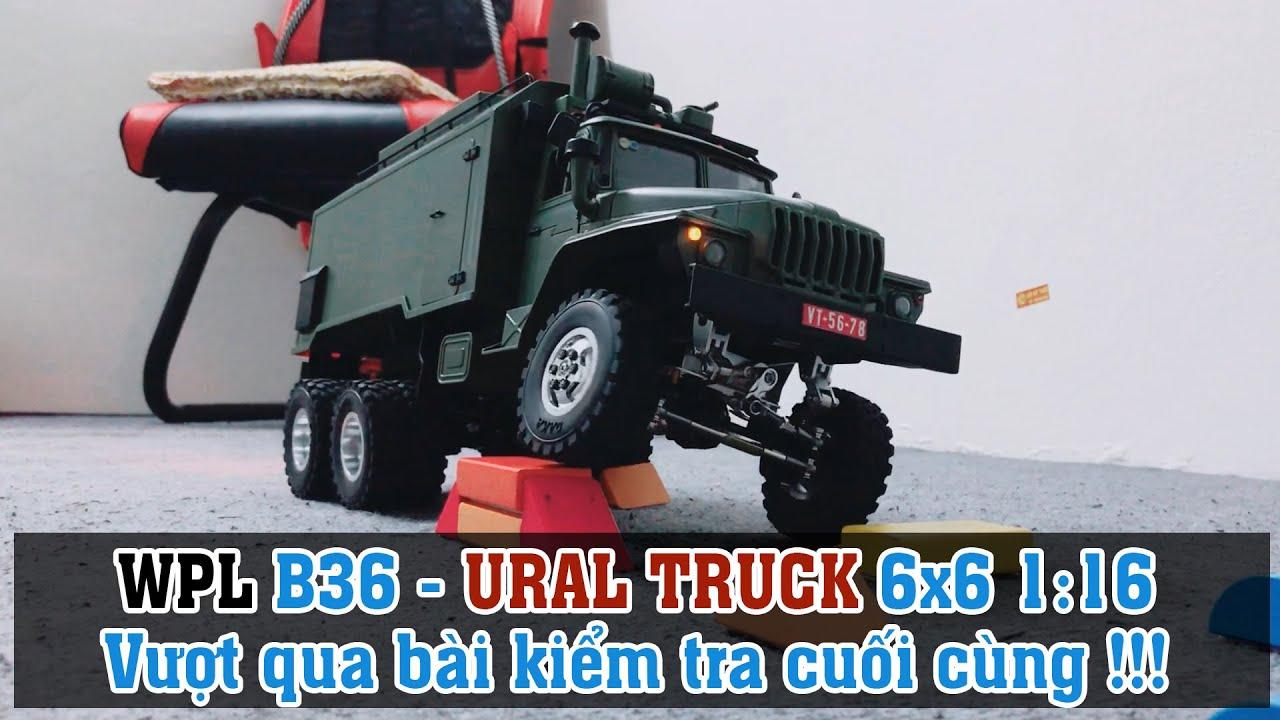 WPL B36 - URAL TRUCK 6x6 1:16 | Vượt qua bài test cuối cùng