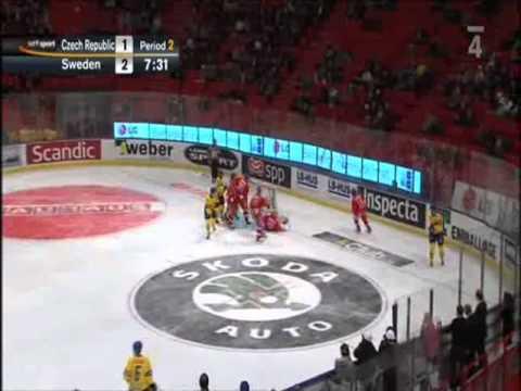 ČESKO - ŠVÉDSKO 1:6 (10. 2. 2011, Stockholm, EHT LG Games)