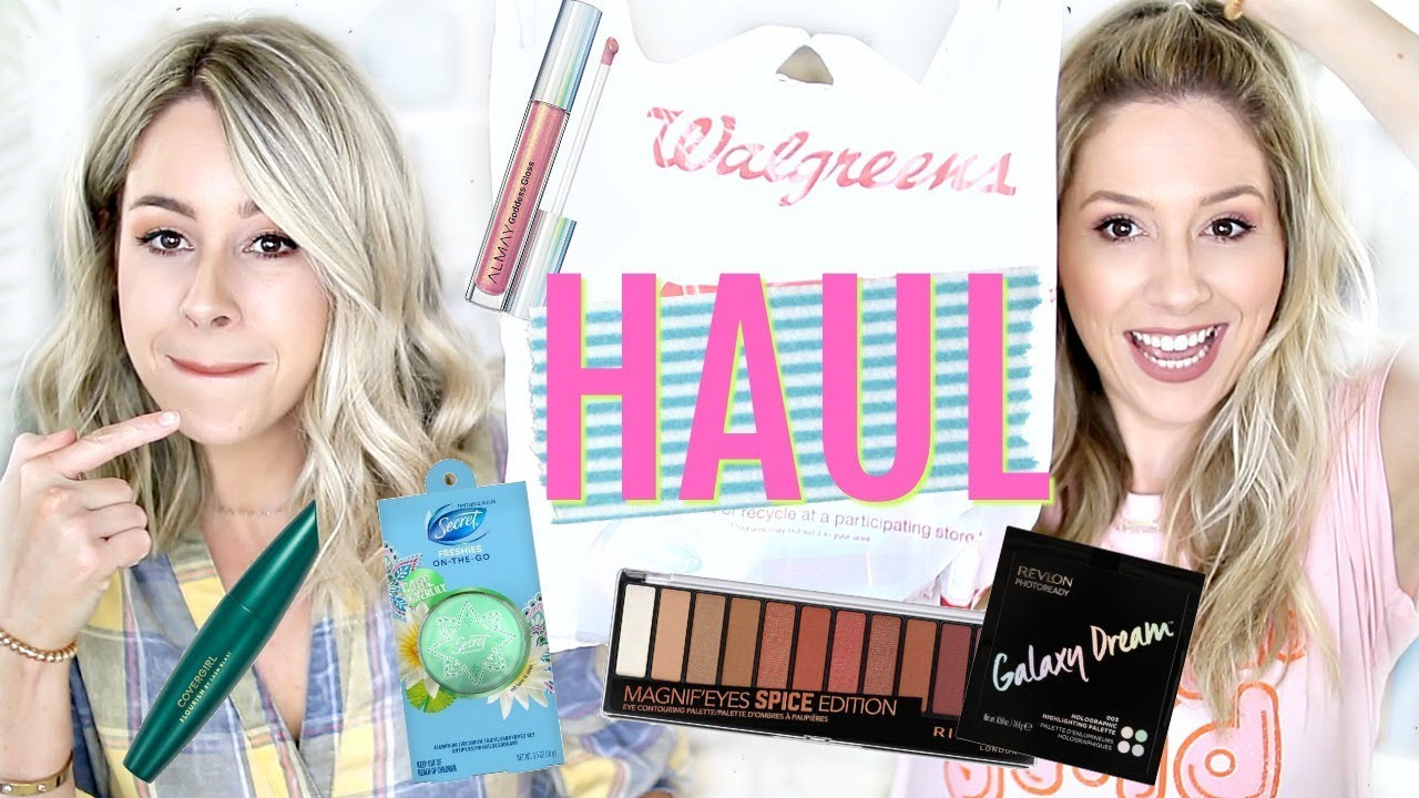 HUGE DRUGSTORE HAUL | NEW Affordable Makeup + MORE!