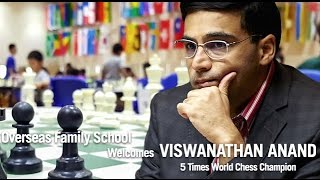 Viswanathan Anand - Simultaneous Game At Overseas Family School