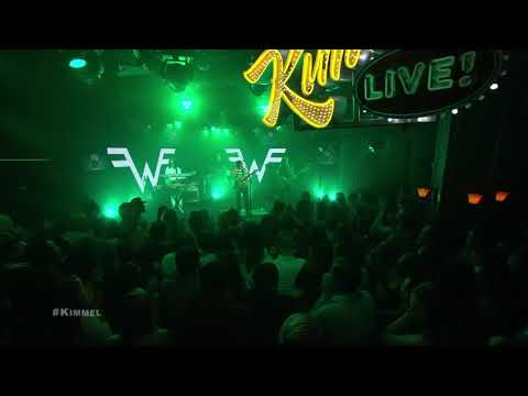 Weezer- High as a Kite on Jimmy Kimmel (re-upload)