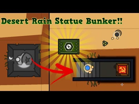 Surviv.io New Statue Bunker 50v50 Loot On Desert Rain Event!!! (Surviv.io Test Server Gameplay)
