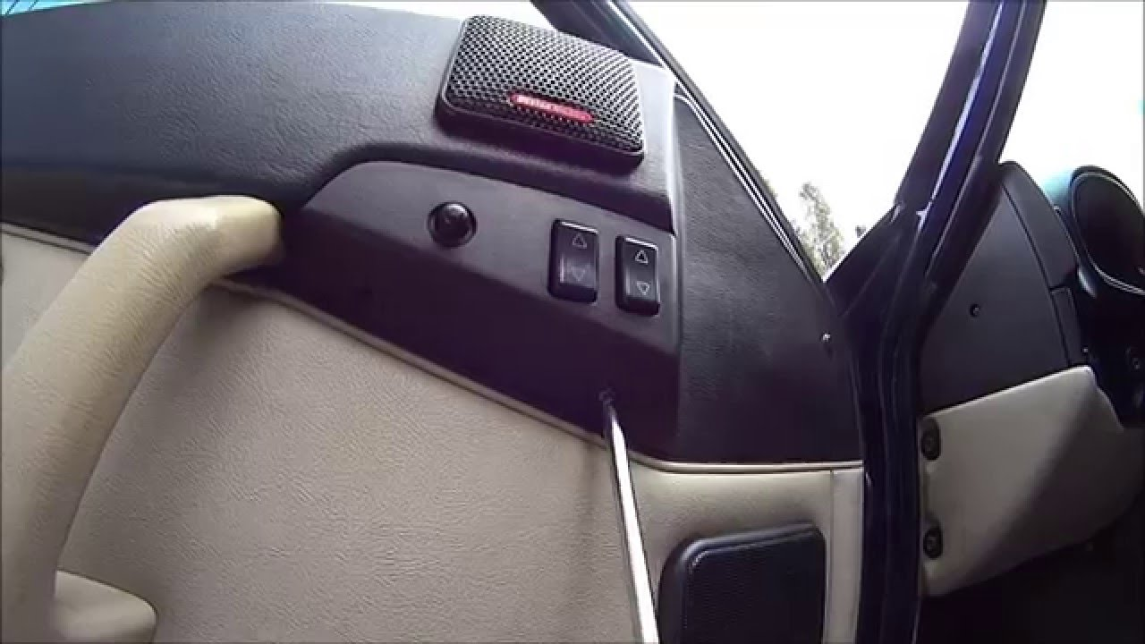window switch replacement porsche 944 968 how to replace [ 1280 x 720 Pixel ]