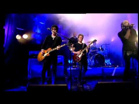 Brian Robertson & The Little Darlings   It's Only Money Live Nyhetsmorgon 2012