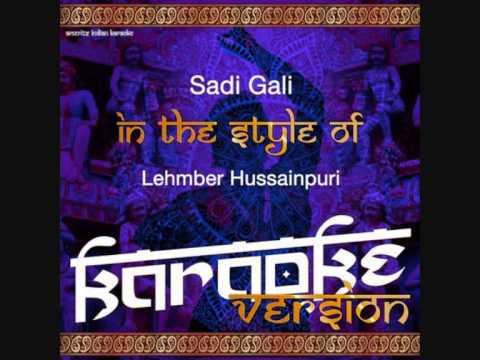 sadi gali-Ameritz Indian (Version Karaoke)