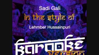 sadi gali-Ameritz Indian (Version Karaoke)