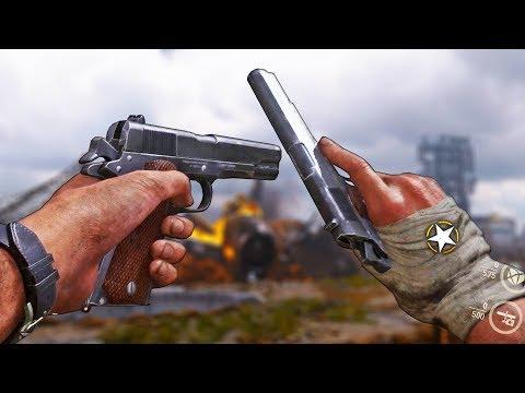 COD WWII ☆ BETA RANK 25! NEW 1911 AKIMBO!