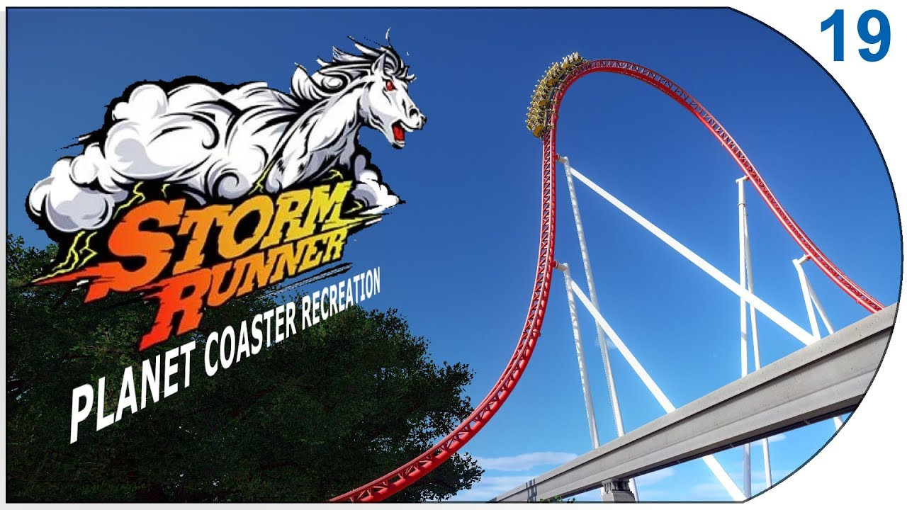 Planet Coaster Recreations 19: Storm Runner Hersheypark – USA