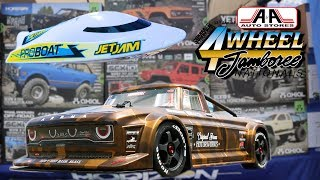 Horizon Hobby Radio Controlled Trucks at 2019 4-Wheel Jamboree Nationals  Bloomsburg, PA V8TV Video