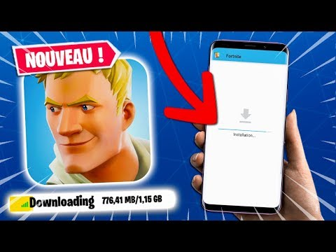 COMMENT TÉLÉCHARGER FORTNITE SUR ANDROID MAINTENANT !