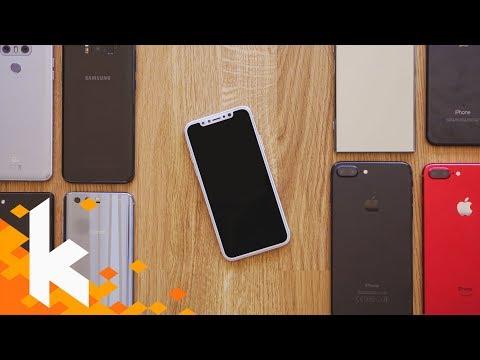 So groß ist das iPhone X! (Vergleich)