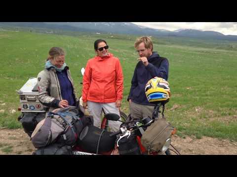 Armenia – Dutch bikers travelled 40 000 kms on an Australia Post motorbike