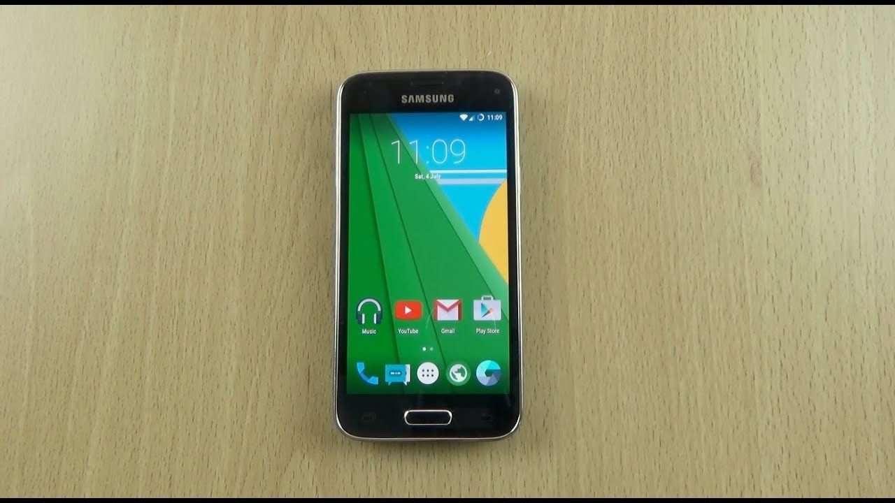 Samsung Galaxy S5 Mini Android 5.1.1 Lollipop