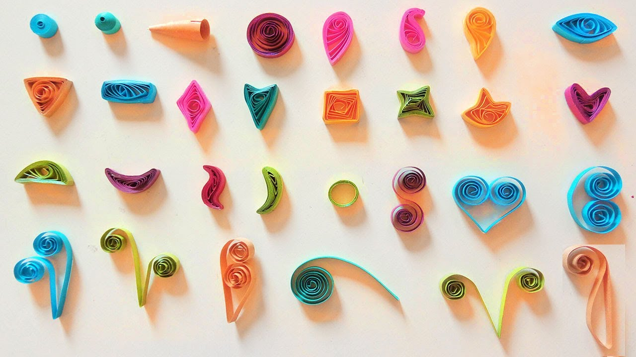Quilling Basic Shapes - YouTube for How To Make Quilling Shapes  lp5fsj