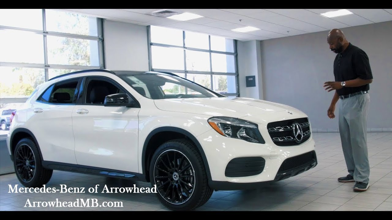 walkaround - 2018 mercedes-benz gla 250 4matic suv from mercedes