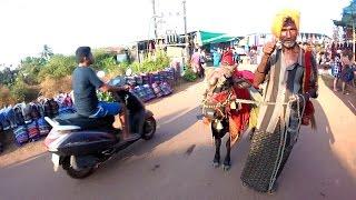 Walking Through the Anjuna Flea Market in Goa, India