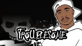 [Free For PROFIT] 2pac Type Beat 2020 - Troublesome | Old School West Coast Instrumental