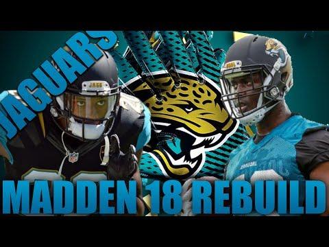 Realistic Rebuild of the Jacksonville Jaguars!| Madden 18 Franchise Rebuild Drafted Rookie MVP?