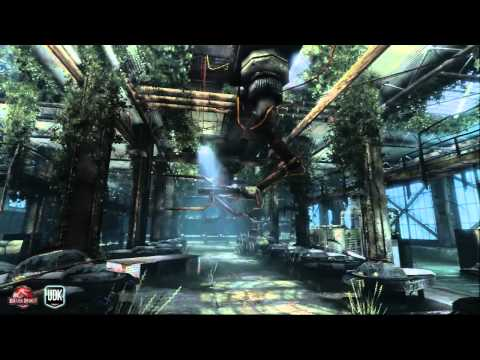 Jurassic Park III Abandoned Cloning Facility UDK In Game