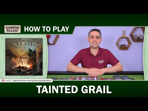 Tainted Grail - How To Play Tutorial Video By Gaming Rules!