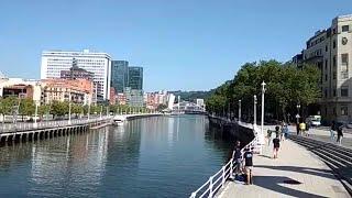 Tiempo soleado y ascenso de temperaturas en Bilbao