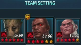 Marvel Future Fight - Alliance Battle Combat Day Attempt