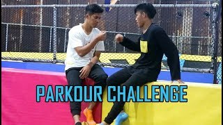 PARKOUR  At TRAMPOLIN PARK thumbnail