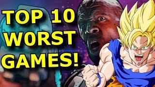 TOP 10 WORST Games of 2019!!