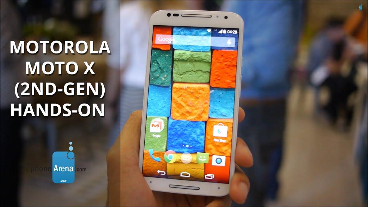 Motorola moto x 2nd gen hands on youtube ccuart Gallery