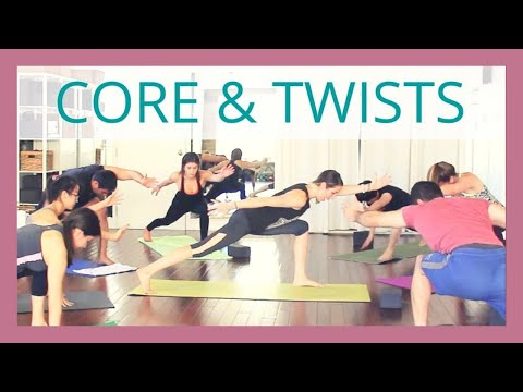 Yoga for Core Strength & Twists - 30 min Yoga Flow