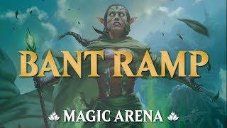 Bant Ramp: É muito terreno! | MAGIC ARENA 135