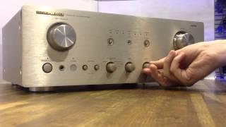 Marantz PM7200 - Knob Feel Review