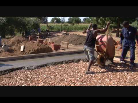 Malawi Fish Farm - Construction of the Fish Farm