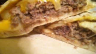 Quesadilla Cheeseburger