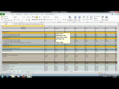 Bigger Pockets Rental Income Excel Demo CBennett LLC