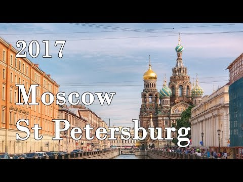 Moscow and St. Petersburg | Russia | 2017 | Yi 4k