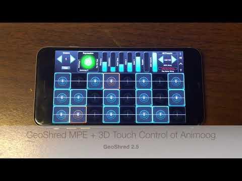 Application Note #11: GeoShred Controlling Animoog
