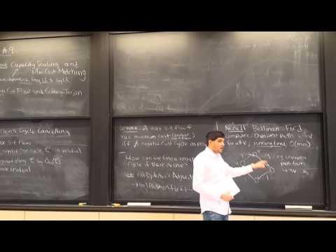 MIT 6.854 Spring 2016 Lecture 9: Min Cost Flow, Goldberg-Tarjan