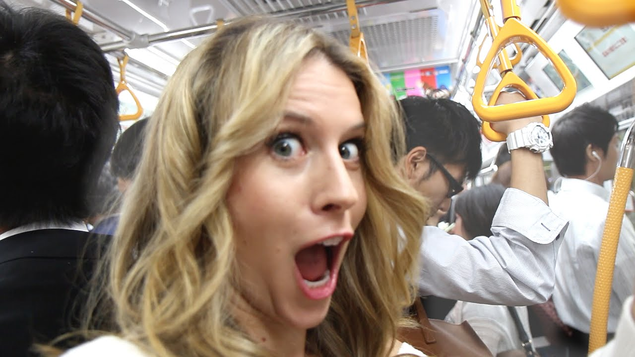 Will You Get GROPED on Tokyo Subway? -- Tokyo, Japan | Bucket List  Adventures | How 2 Travelers - YouTube