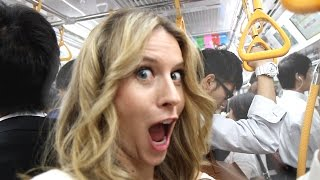 Repeat youtube video Will You Get GROPED on Tokyo Subway? -- Tokyo, Japan