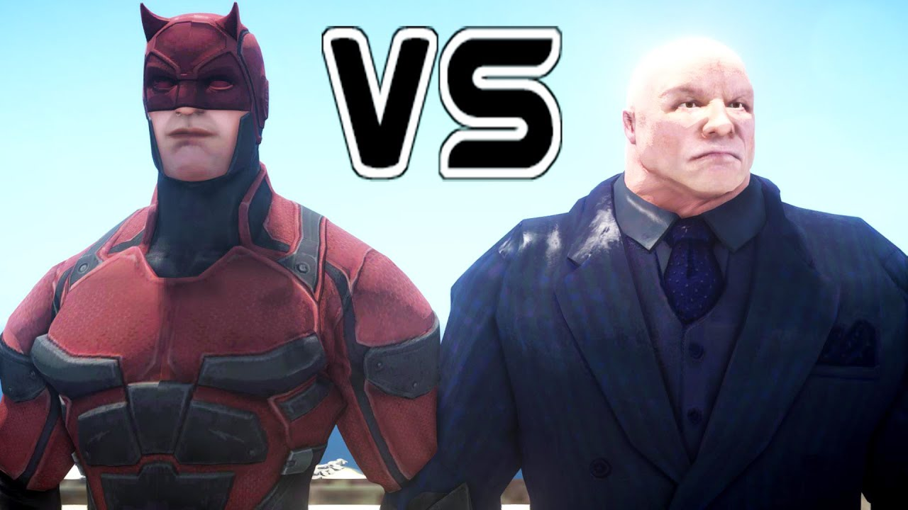 Daredevil Vs Kingpin DAREDEVIL VS KINGPIN -...