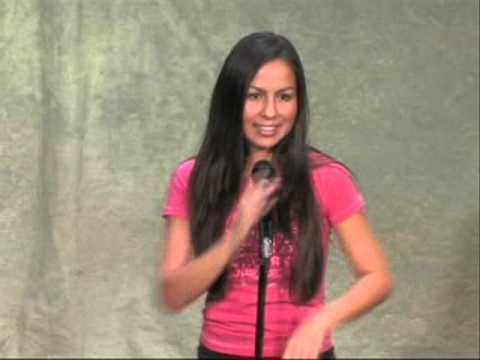 Anjelah Johnson early stand-up routine