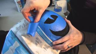 Painting a Fencing Mask