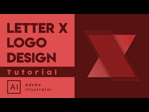 How to make 3D Look Logo Design - Adobe Illustrator Tutorial thumbnail