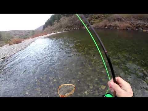 Flyfishing On Upper Sacramento River, 1/1/2020