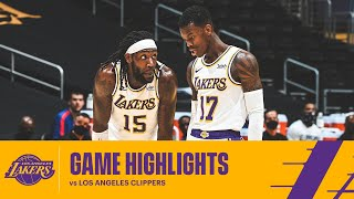 HIGHLIGHTS   Los Angeles Lakers Vs Los Angeles Clippers